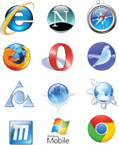 support all browsers